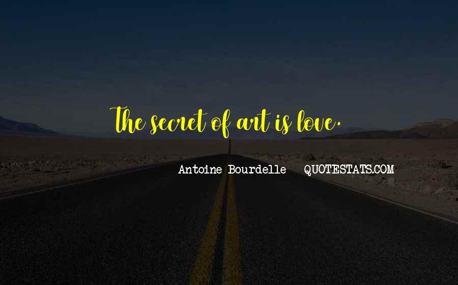 The Secret Love Quotes #166109