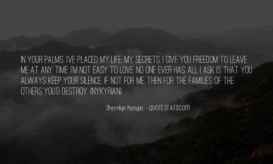 The Secret Love Quotes #237872
