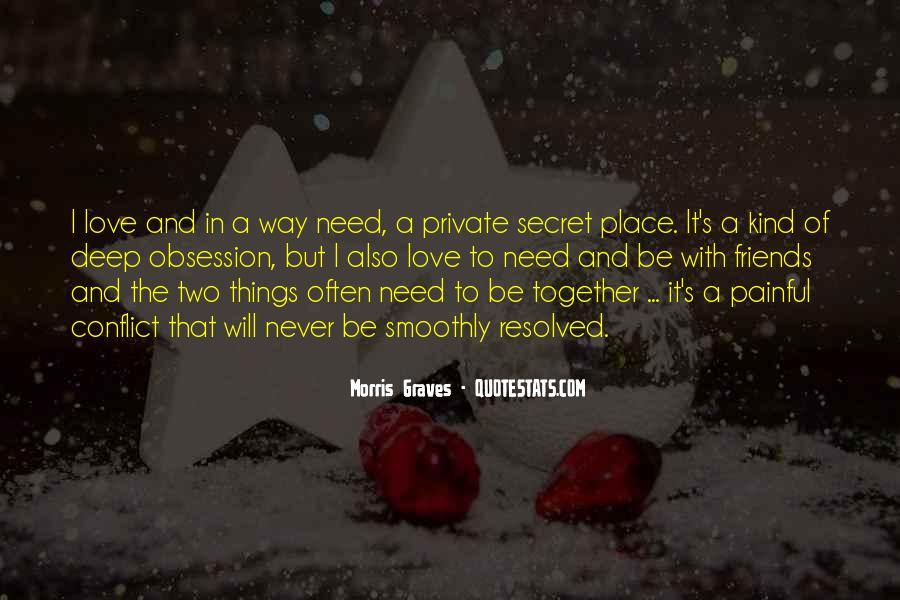 The Secret Love Quotes #2585