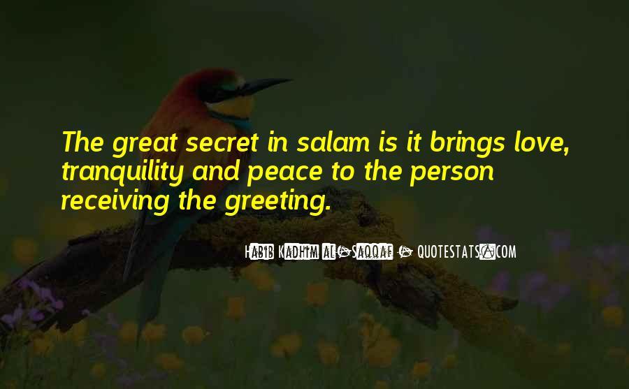 The Secret Love Quotes #29077