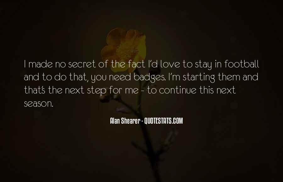 The Secret Love Quotes #322612