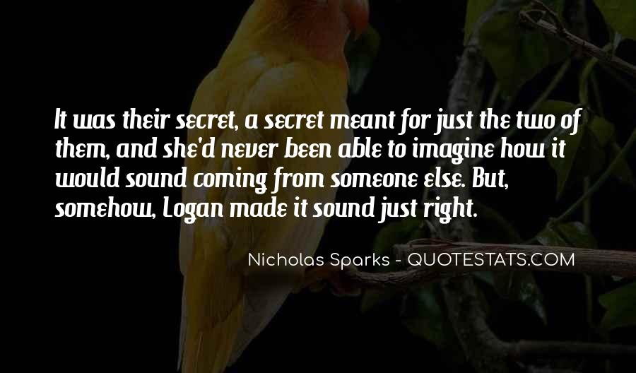 The Secret Love Quotes #379560