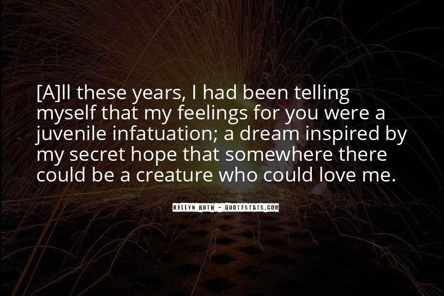 The Secret Love Quotes #42230