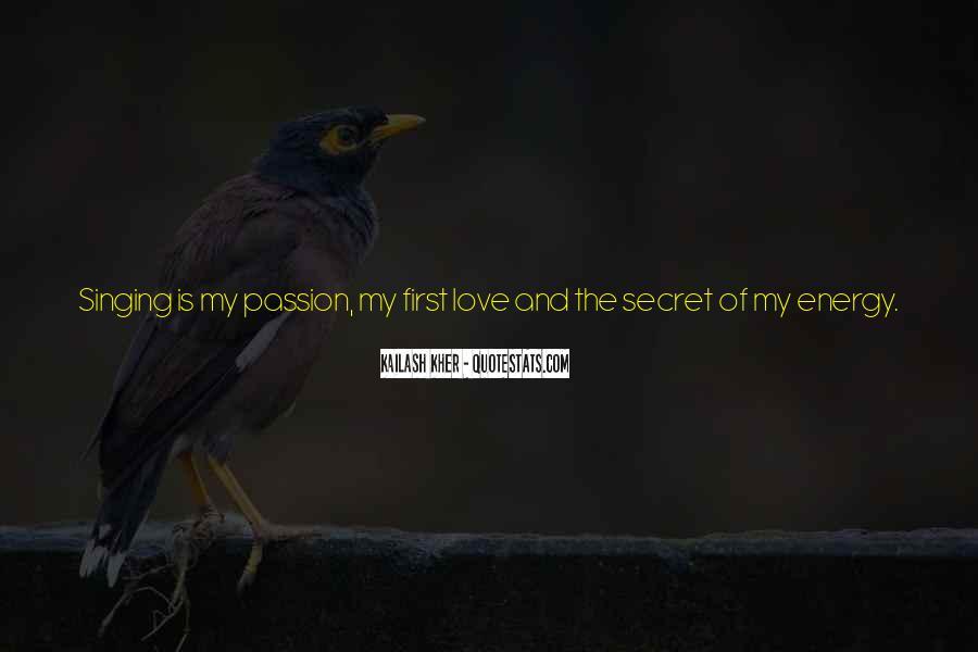 The Secret Love Quotes #471121