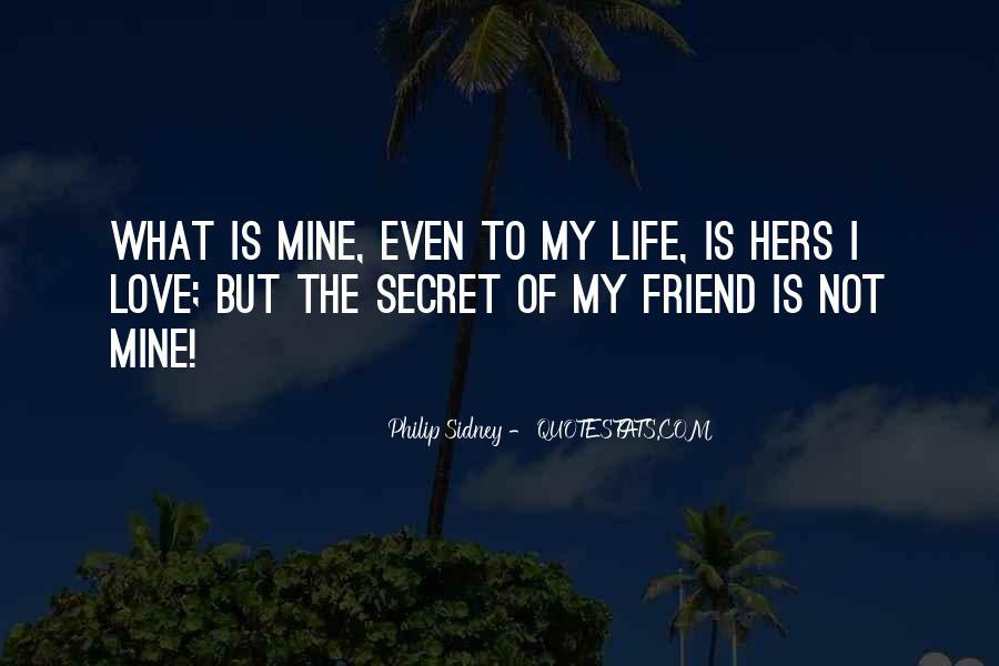The Secret Love Quotes #494510