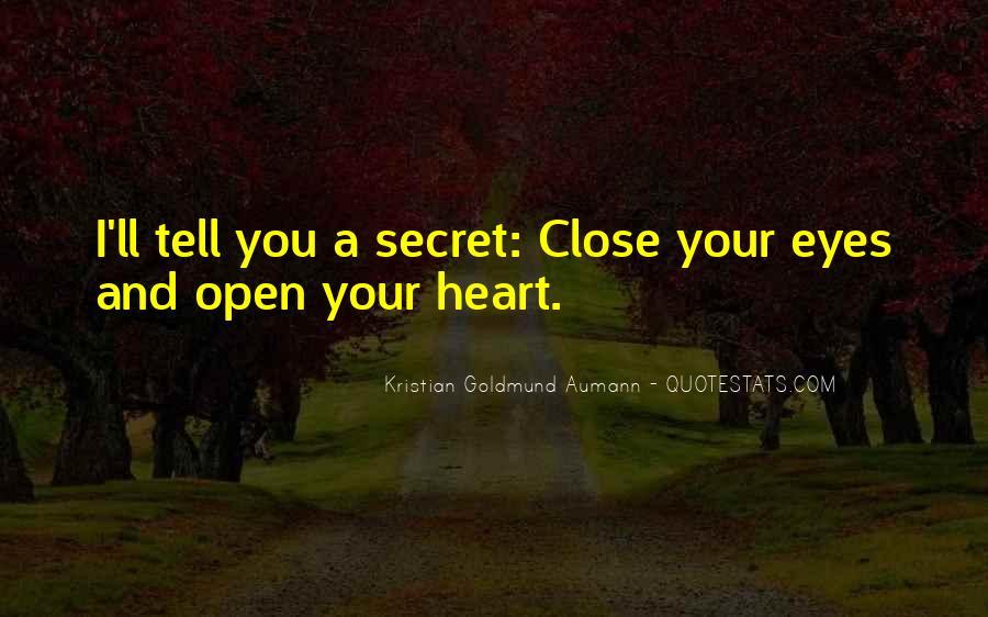 The Secret Love Quotes #506383