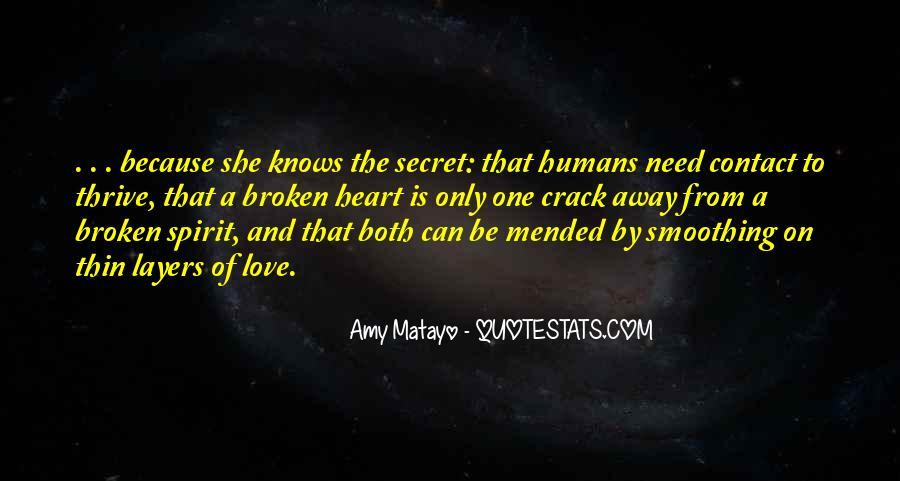 The Secret Love Quotes #54903
