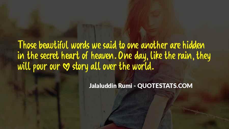 The Secret Love Quotes #95731