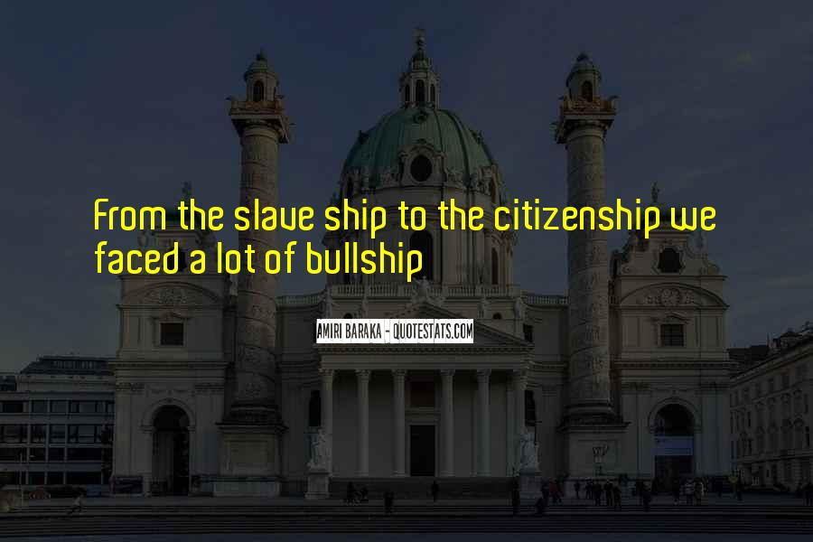 The Slave Ship Quotes #980103