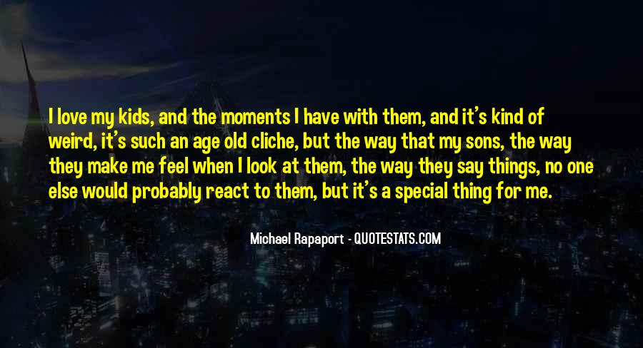 The Special Moments Quotes #1448652