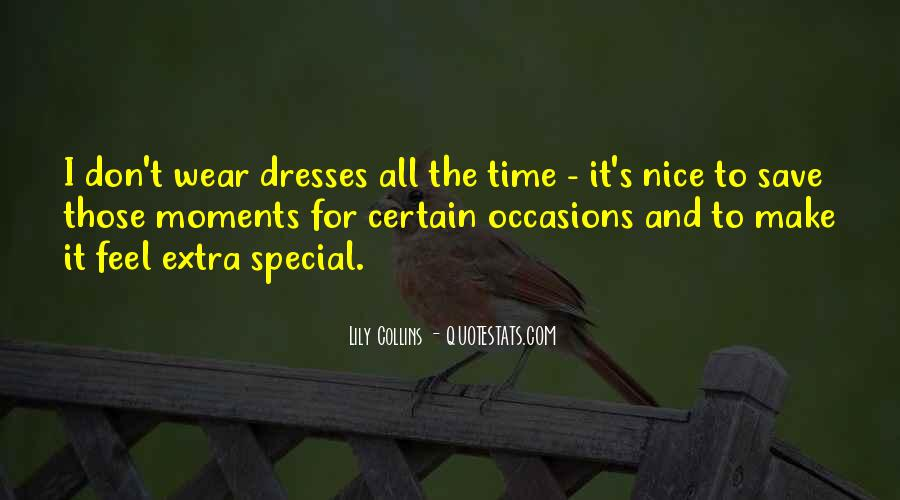 The Special Moments Quotes #1498206