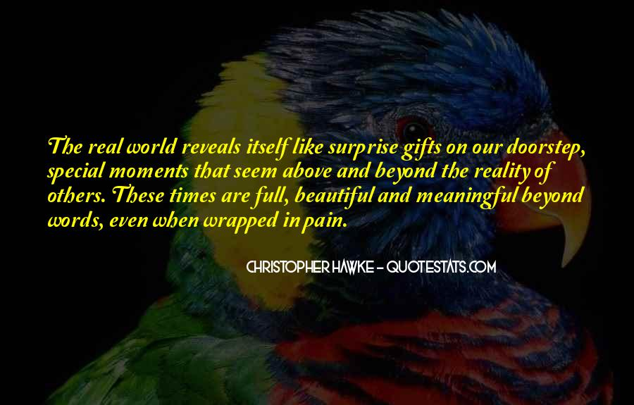The Special Moments Quotes #1614046