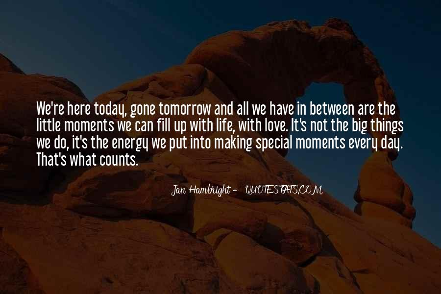 The Special Moments Quotes #219233