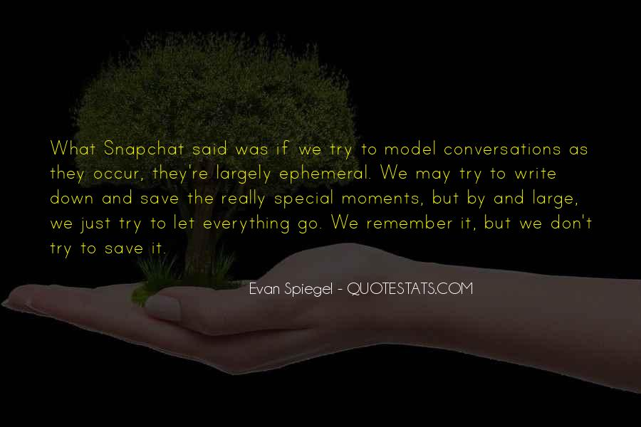 The Special Moments Quotes #412468