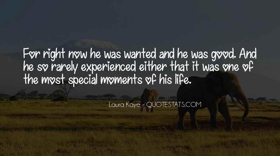 The Special Moments Quotes #538853
