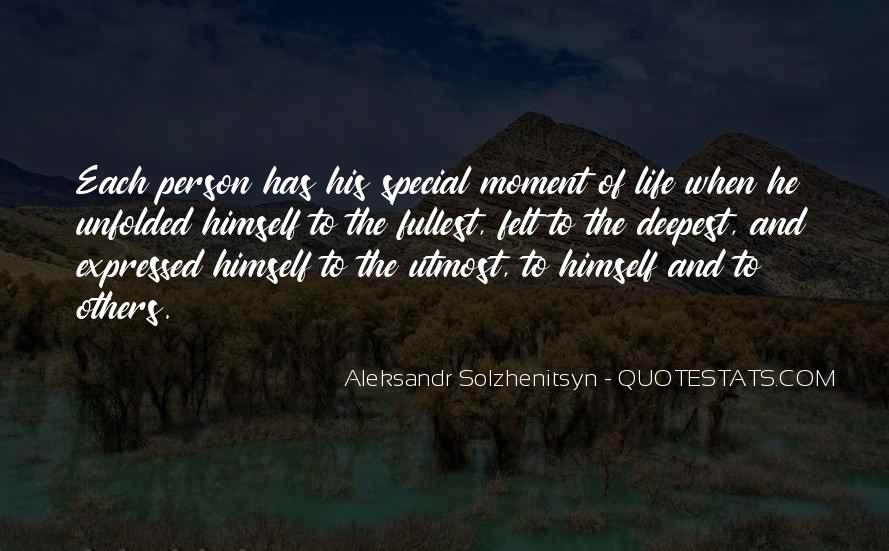 The Special Moments Quotes #93841