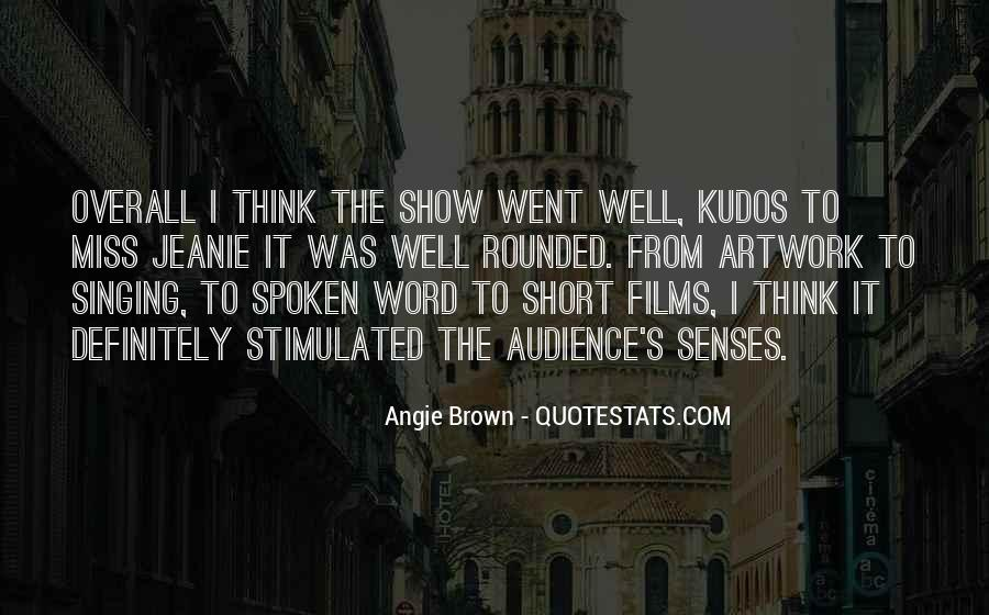 The Spoken Word Quotes #111182