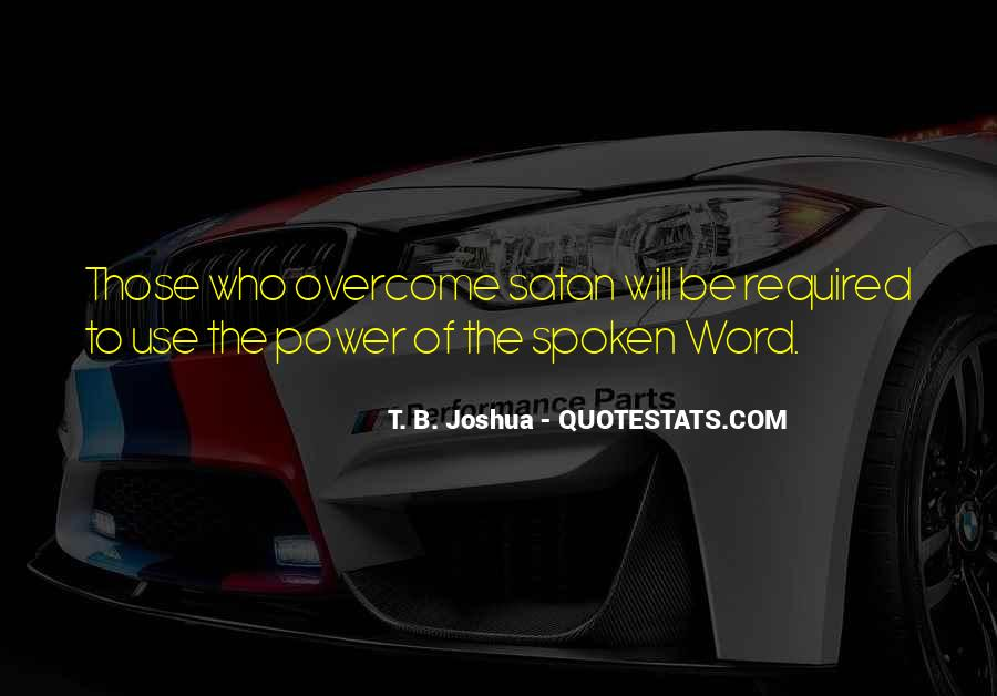 The Spoken Word Quotes #189187