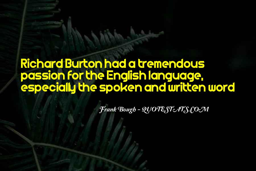 The Spoken Word Quotes #667131