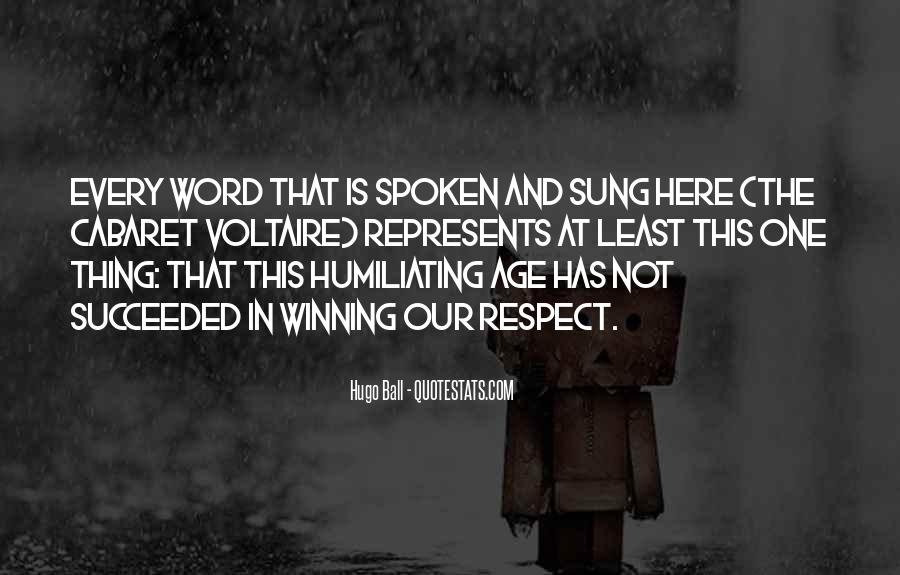 The Spoken Word Quotes #687822