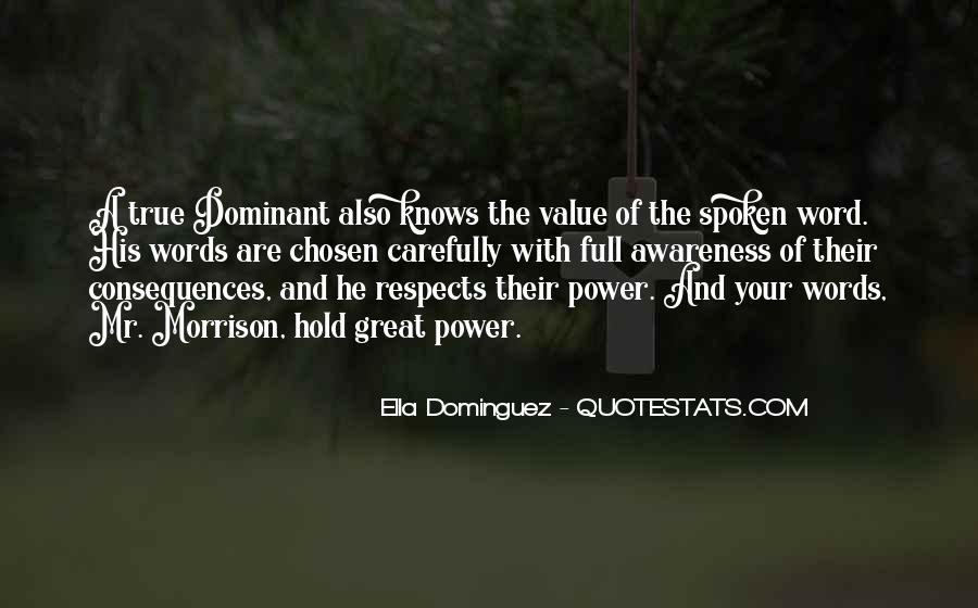 The Spoken Word Quotes #749510