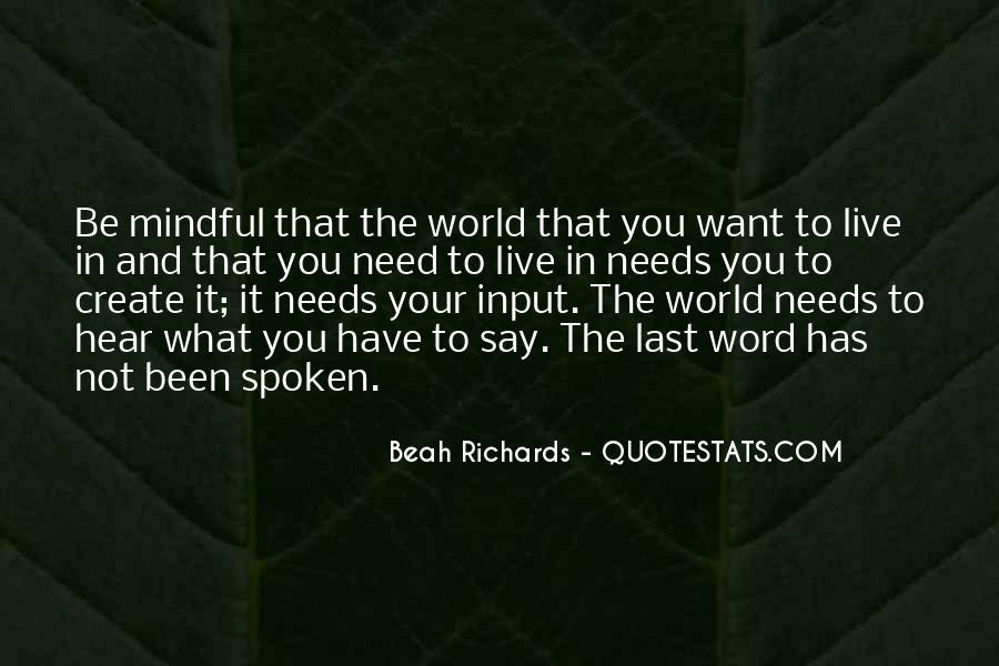The Spoken Word Quotes #828314