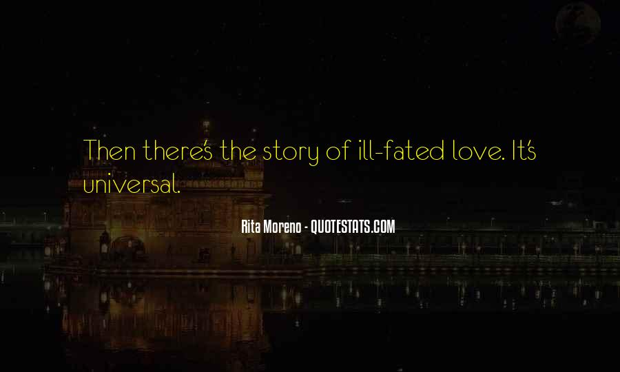 The Story So Far Love Quotes #4145