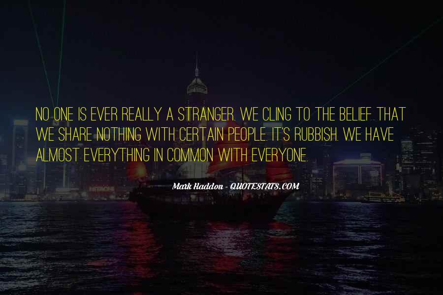 The Stranger Quotes #130546