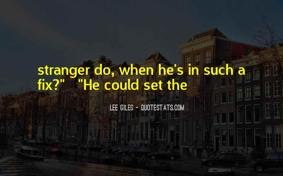The Stranger Quotes #147856