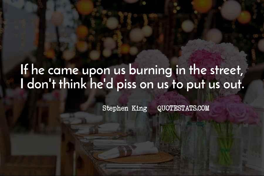 The Street King Quotes #225021