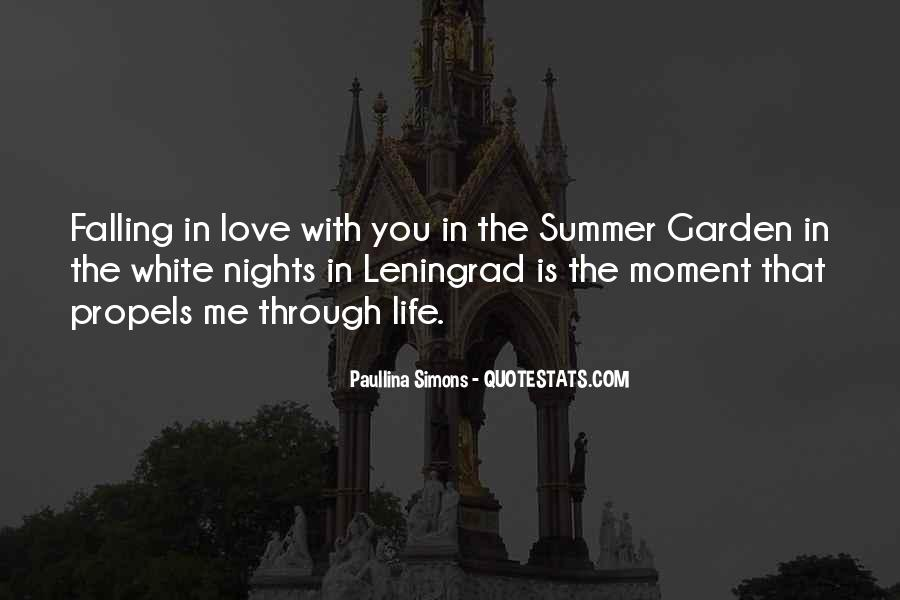 The Summer Garden Paullina Simons Quotes #1782502