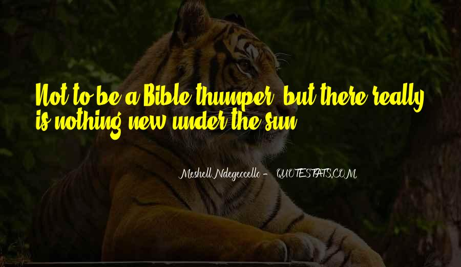 The Sun Bible Quotes #462213