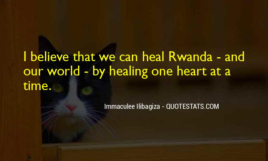 The Time Will Heal Quotes #166442