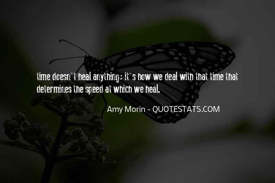 The Time Will Heal Quotes #193247