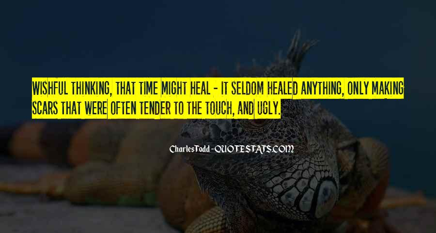 The Time Will Heal Quotes #313180