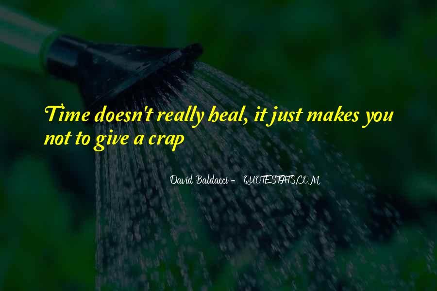 The Time Will Heal Quotes #628516