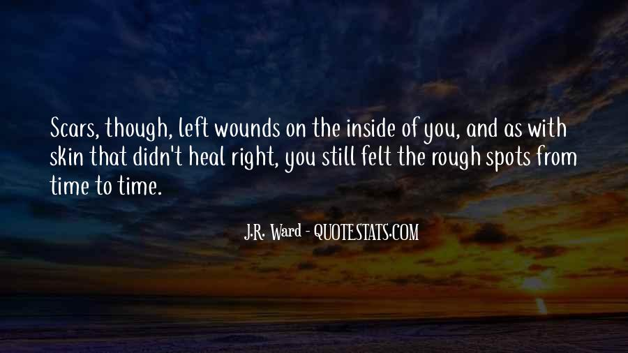 The Time Will Heal Quotes #790195