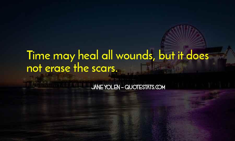 The Time Will Heal Quotes #862026