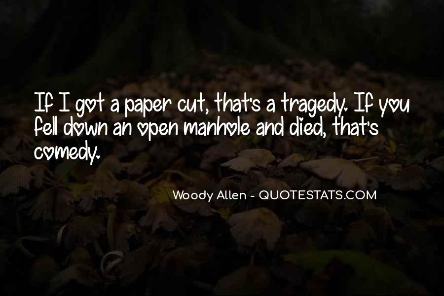 The Tragedy Paper Quotes #829709