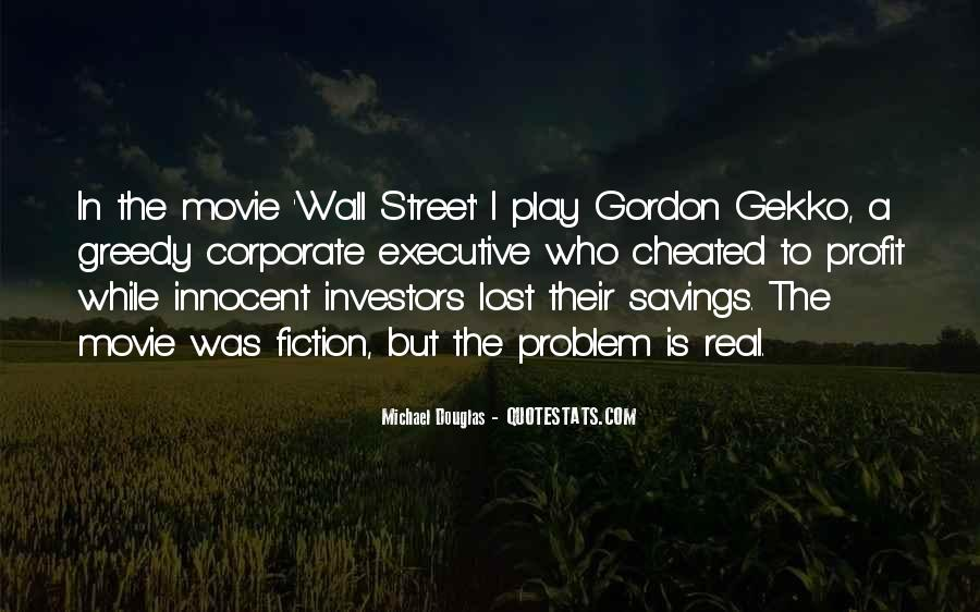 The Wall Street Movie Quotes #806001
