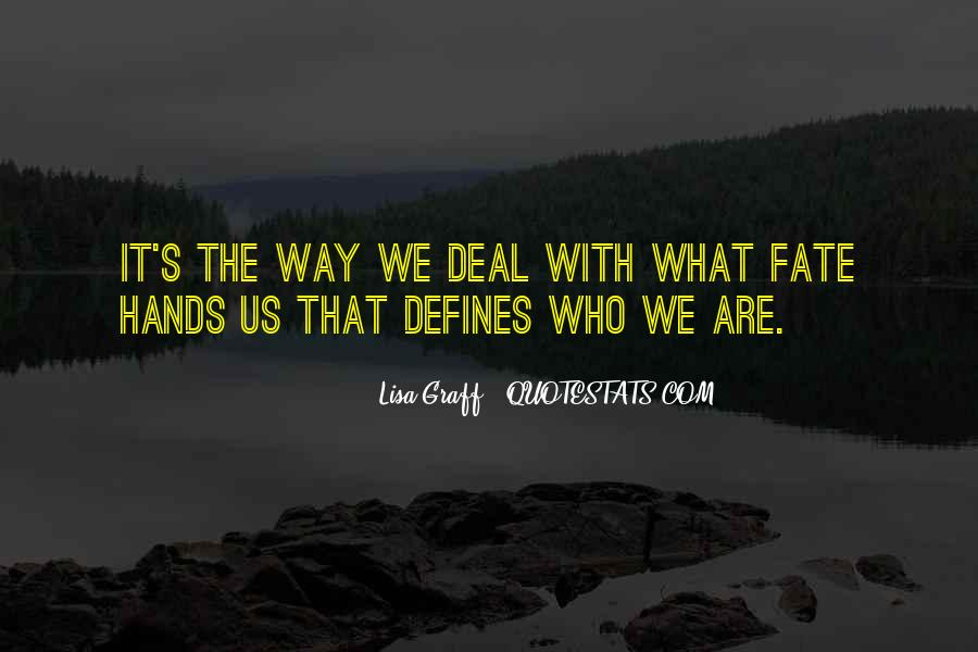 The Way We Are Quotes #39908