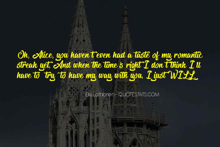 The Way You Taste Quotes #1166086