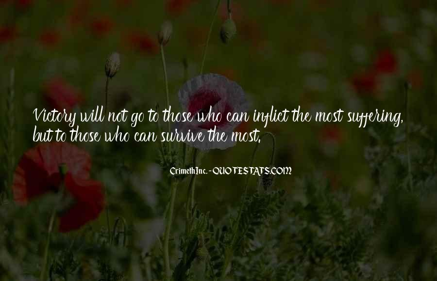 The Will To Survive Quotes #174787