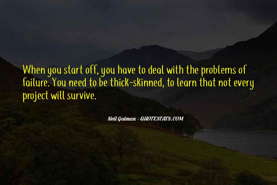 The Will To Survive Quotes #196068