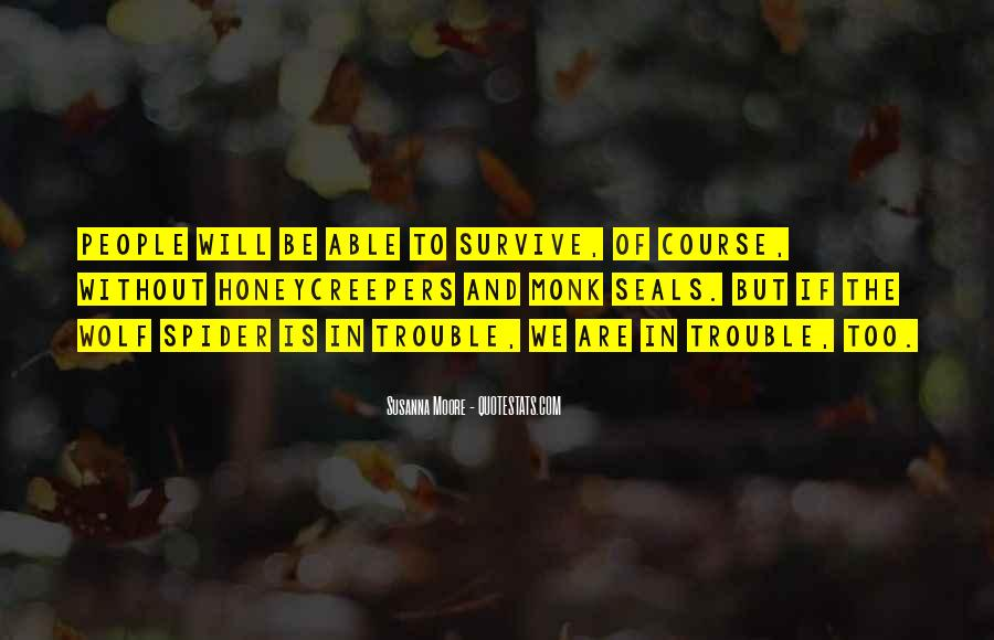 The Will To Survive Quotes #649688