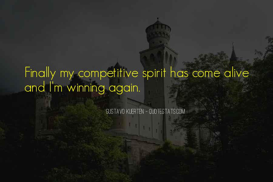 The Winning Spirit Quotes #1503008