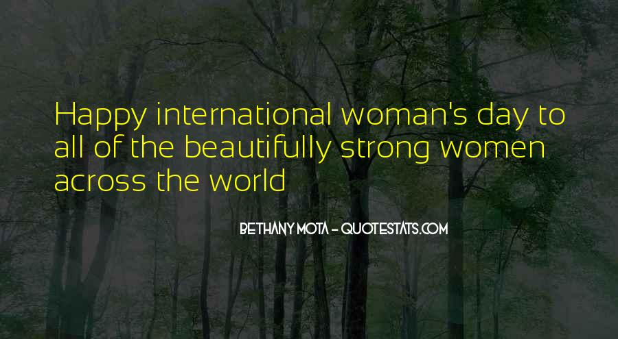 The Women's Day Quotes #394375