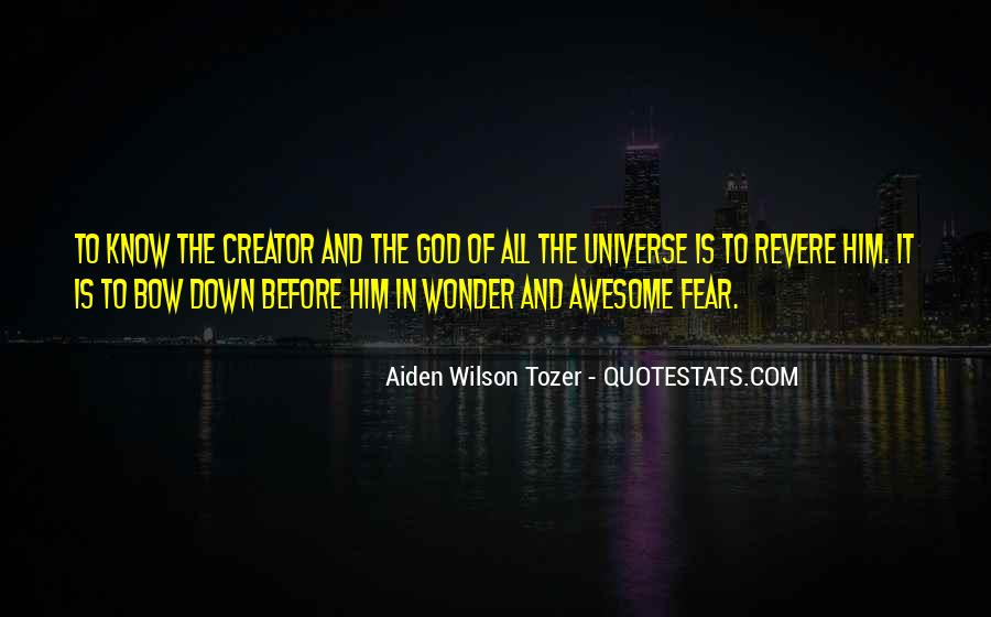 The Wonder Of It All Quotes #226198