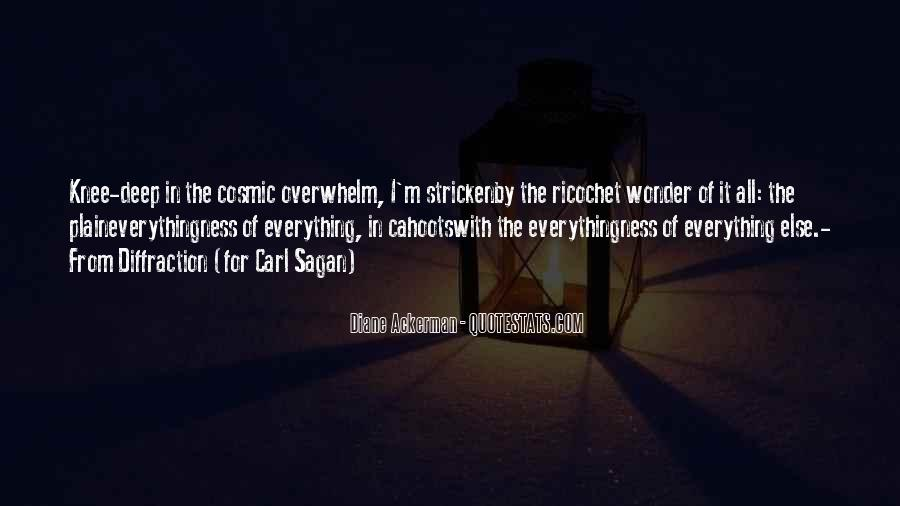 The Wonder Of It All Quotes #249363