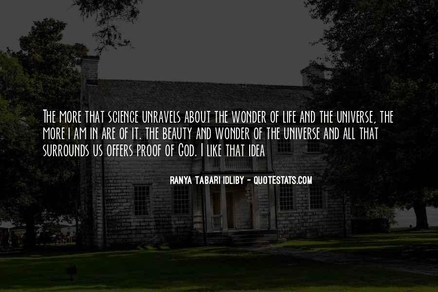 The Wonder Of It All Quotes #327471